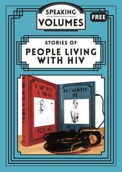 Flyer: stories of people living with HIV