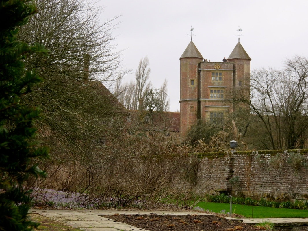 walled garden and tower