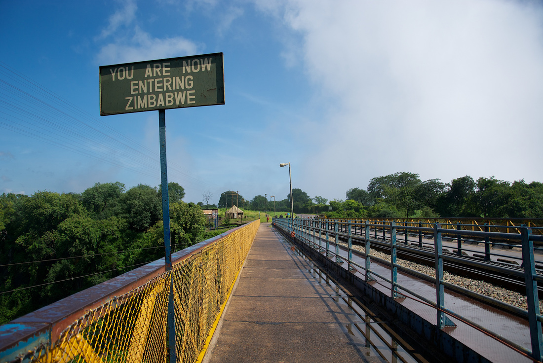 Bridge and sign