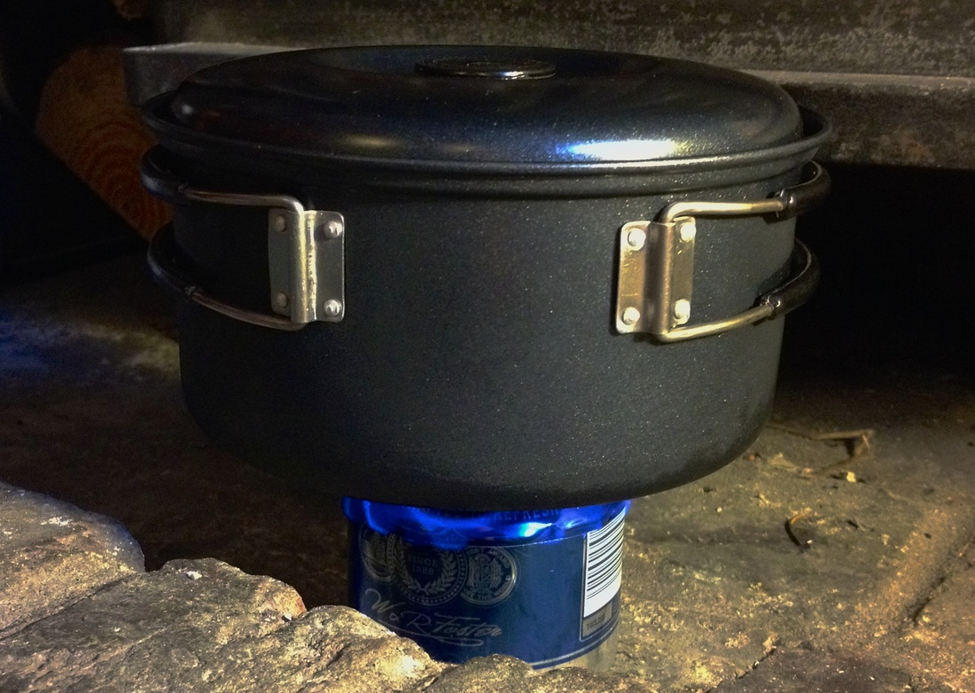 Boiling a pot of water