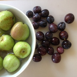 Crabapples and damsons