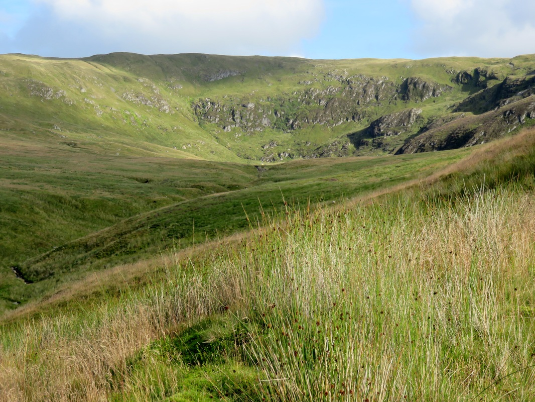 The valley and crags