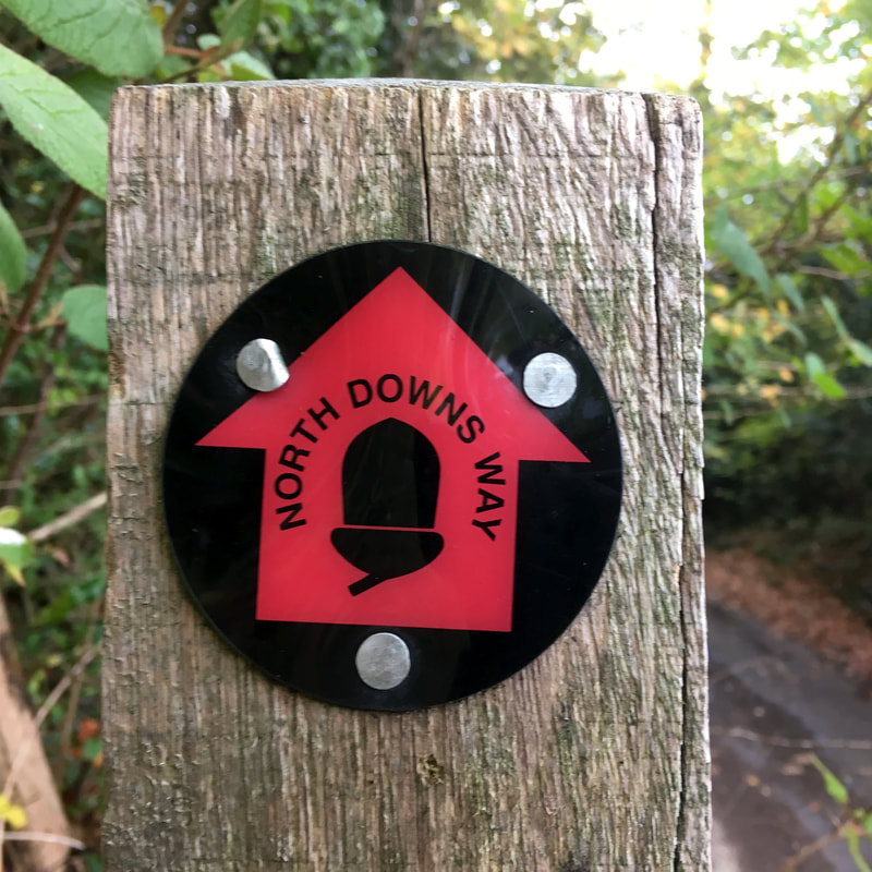 NDW way marker - red arrow